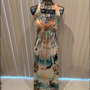 ✨BOHO✨ chic dress with embellished crystals✨ NWOT